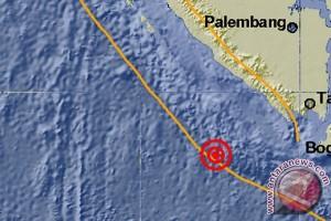 Gempa 5,5 SR guncang Lampung