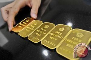 Emas naik karena dolar dan ekuitas AS melemah