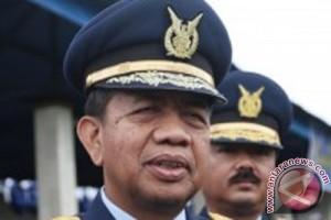 Rayakan HUT TNI AU, TNI tetap siaga pengamanan