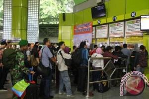 Tiket KA usai Natal dari Yogyakarta menipis