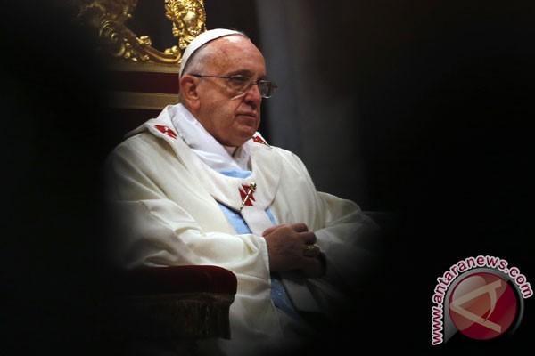 Paus Fransiskus desak PBB bantu Venezuela akhiri krisis