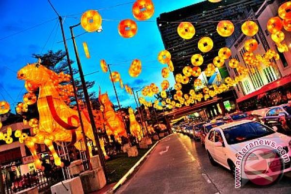 Singapore's Chinatown Celebrates