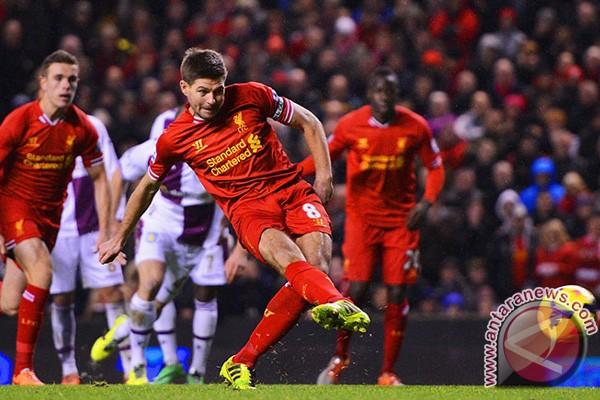 Liverpool tertinggal 0-1 di babak pertama