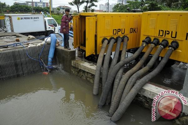 Pompa air antisipasi banjir prioritas DKI Jakarta