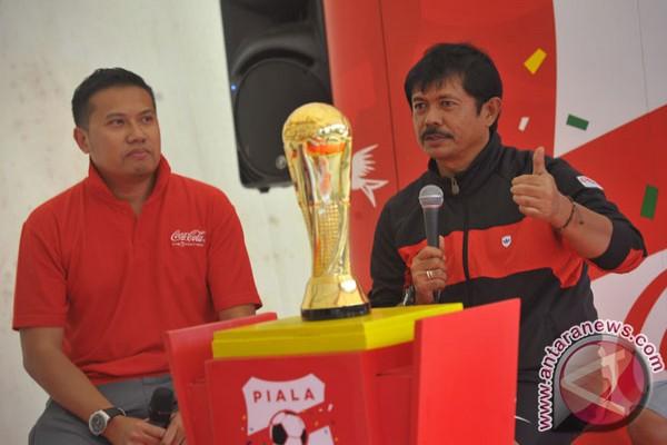 Indra Sjafri ajarkan permainan bola sederhana  ANTARA News