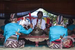 Gamelan dan sesajen tarik perhatian Festival Norwegia
