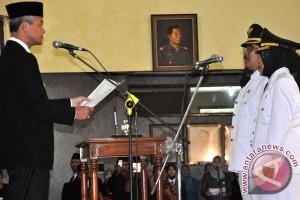 Gubernur Jateng resmi lantik 17 kepala daerah