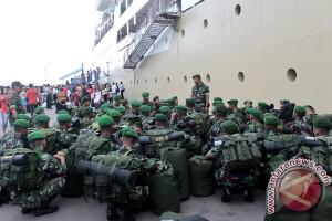 Penambahan Pasukan TNI Batam