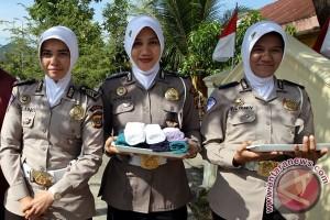 Polda Riau tegaskan larangan wanita polisi berjilbab