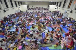 Gatal-gatal dominasi keluhan pengungsi banjir Karawang