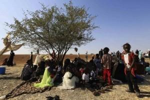 Warga Sudan Selatan menyelamatkan diri ke Sudan
