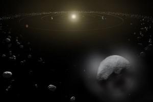 Planet kerdil Ceres semburkan uap air