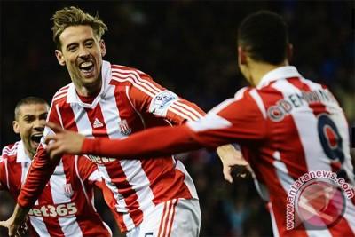 Manchester City menyerah 0-1 atas Stoke City