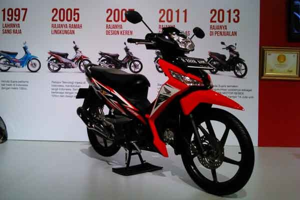 Supra-X motor Honda terlaris di Jakarta-Tangerang