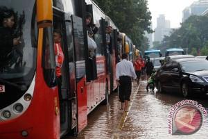 Banjir Medan Merdeka Barat