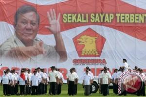 Prabowo Lantik Relawan Gerindra