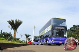 Jakarta luncurkan bus dan rute wisata baru