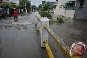 Sembilan titik banjir di Kota Tangerang