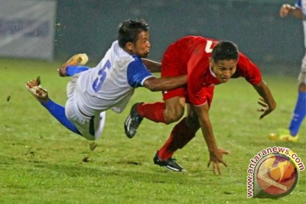 Timnas Indonesia U-19 vs SP U-21 berakhir 1-0