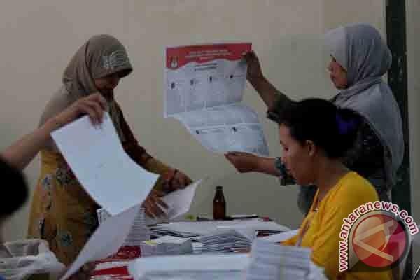 KPU Paser percepat sortir surat suara