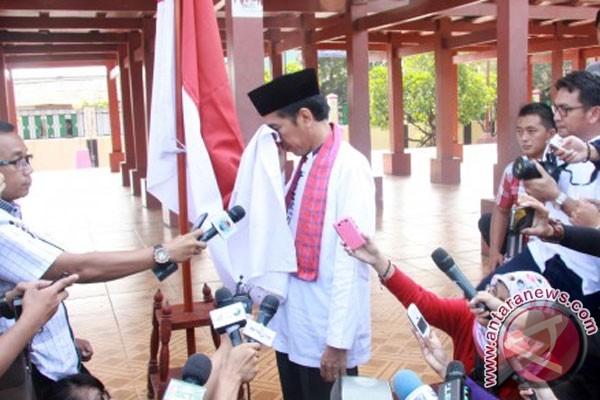 Jokowi begins PDIP campaign in Jakarta