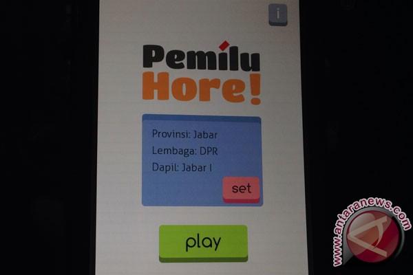 Game Pemilu Hore! rangsang ketertarikan pemilih awam