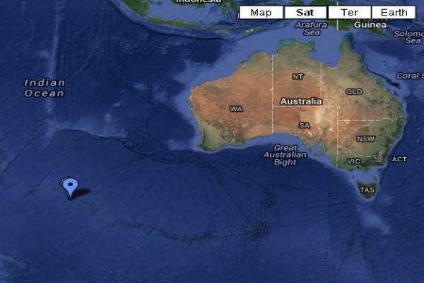 Dokumen citra satelit lokasi diduga lokasi malaysia airlines mh370