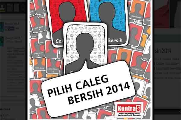 KontraS sediakan info caleg berkualitas di Bersih2014