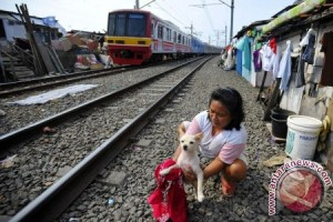 Ketimpangan sosial di Indonesia lebih tinggi ketimbang AS