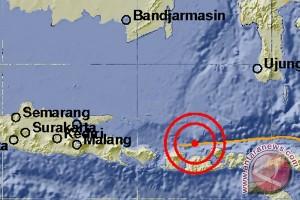 Lombok diguncang gempa ringan