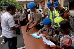 Polres Lebak intensifkan razia jelang Pemilu