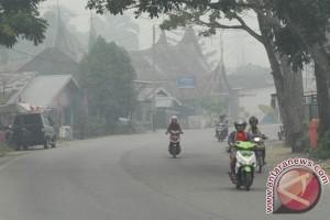 Lagi-lagi asap kebakaran lahan ganggu Pekanbaru