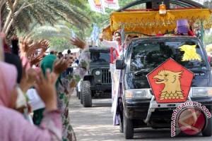 Kirab Kampanye Pemilu Aceh
