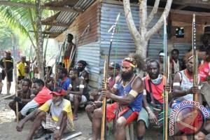 TNI dan polisi hentikan perang antar kampung Asmat