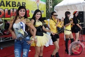 Penyanyi Dangdut dalam Kampanye Partai