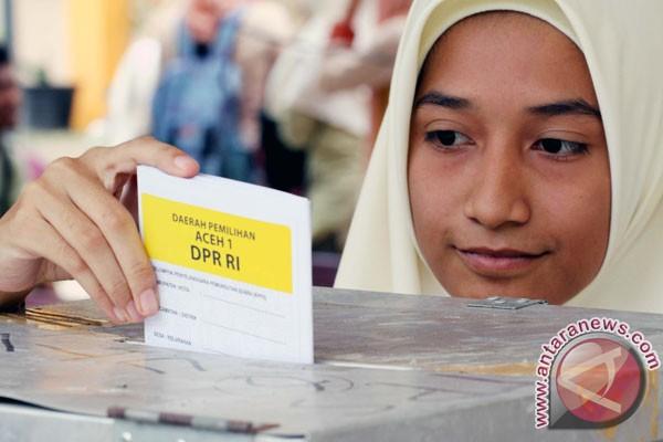 Hitungan sementara, PDIP raih 19,26% suara