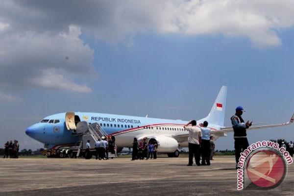 Uji coba pesawat kepresidenan dari Aceh-Papua