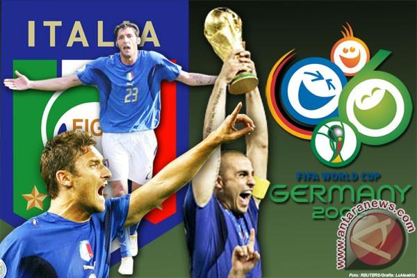 2006 - Italia juara ditengah badai Calciopoli