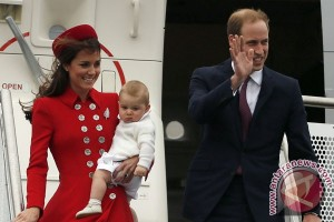 Kate ungkap panggilan Pangeran George untuk Ratu Elizabeth