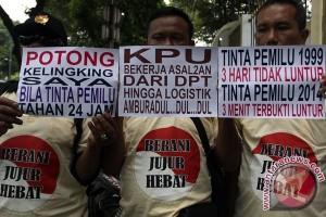 Demo Tinta Pemilu