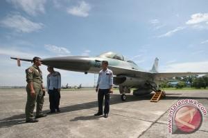 Skuadron F16 datang bertahap ke Pekanbaru