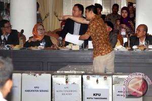 Rekap Hasil Pileg Banten