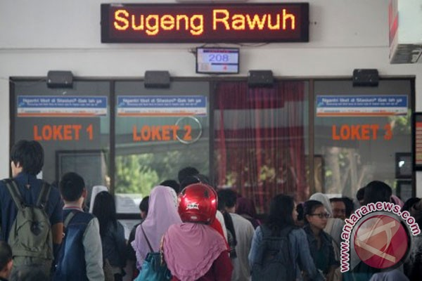 ilustrasi tiket kereta tambahan habis pembeli tiket kereta api