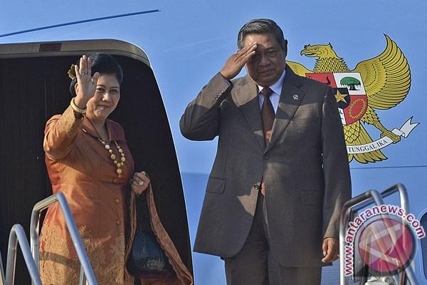 Presiden SBY tiba di Manila
