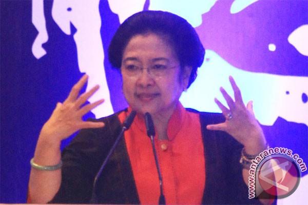 Ketua umum pdip megawati soekarnoputri (antara foto/rivan awal lingga)