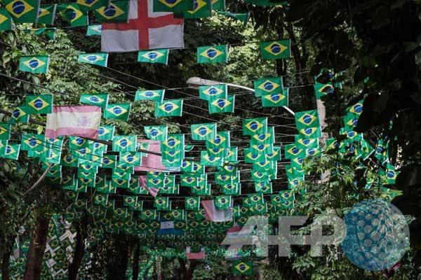 Bendera Negara Peserta Piala Dunia 2014 Rio de Janeiro Honorio de ...