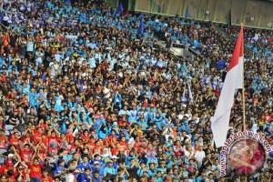Buruh kembali bersiap unjuk rasa di Istana Merdeka