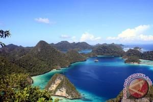 Raja Ampat`s endemic coral reefs well preserved