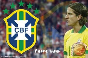 Filipe Luis diskors tiga pertandingan karena tekel keras Messi