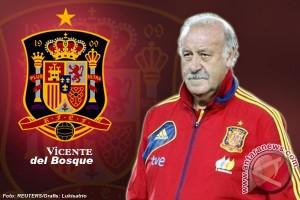"""Del Bosque tetap latih """"La Roja"""""""
